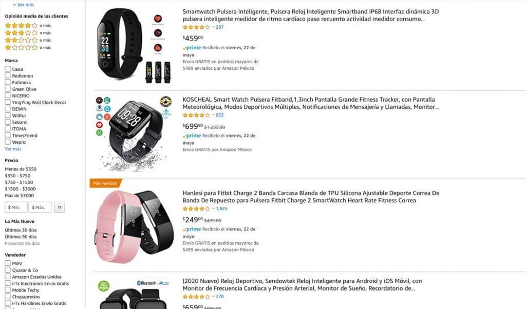 Amazon tienda