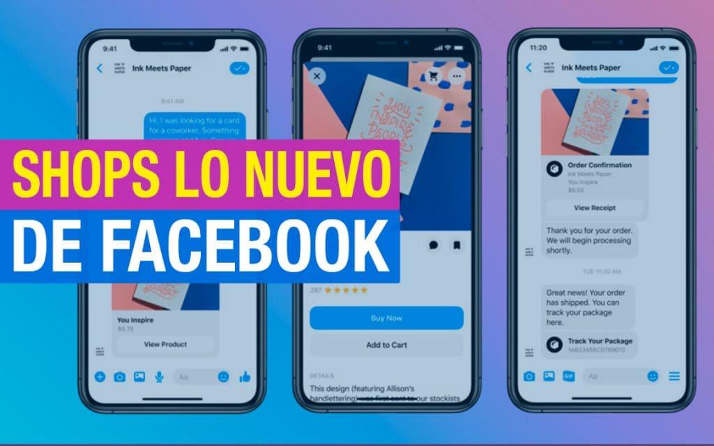 Shops Tiendas Virtuales de Facebook