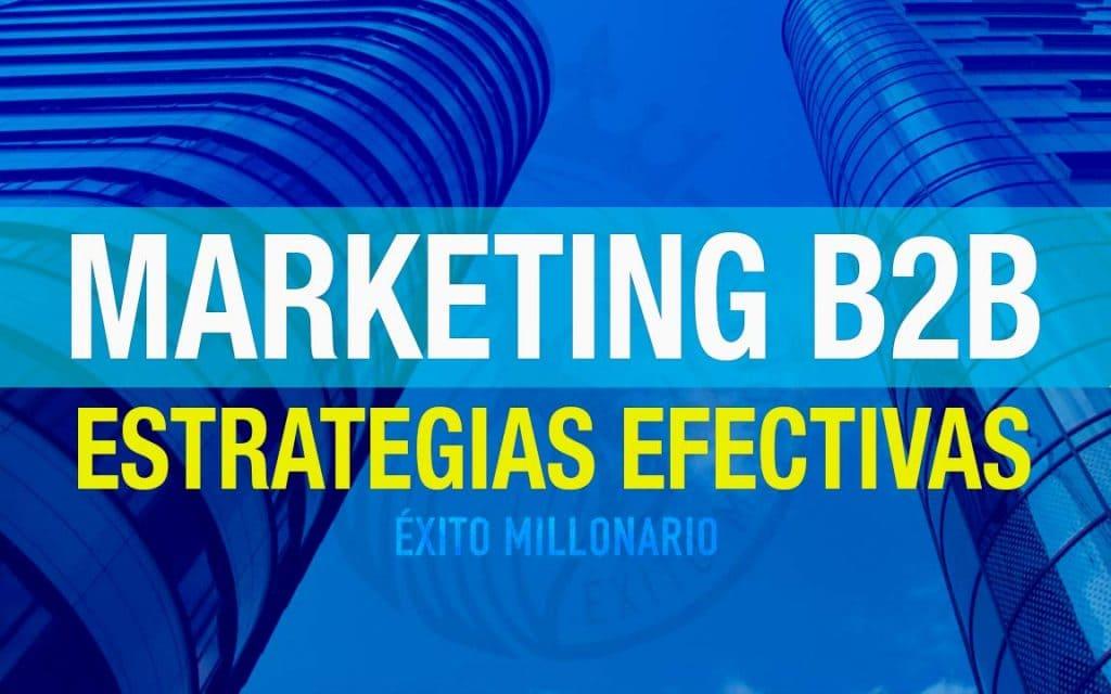 Marketing B2B Estrategias Efectivas